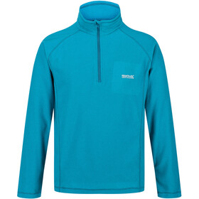 Regatta Montes Fleece Longsleeve Heren, olympic teal